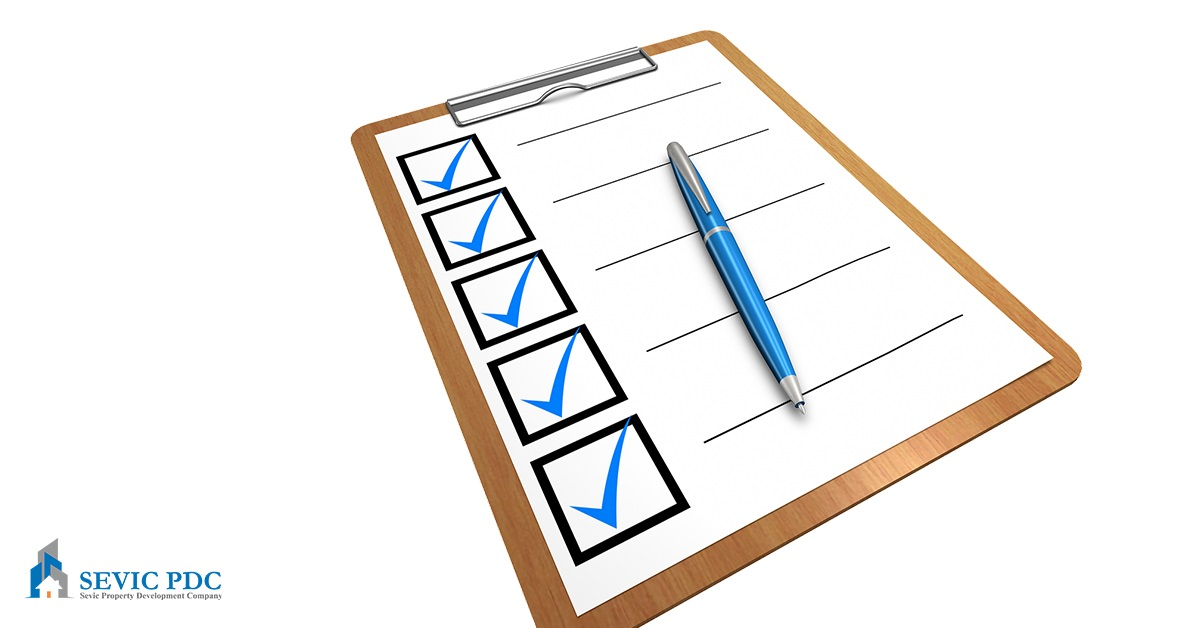 The land buyer's checklist