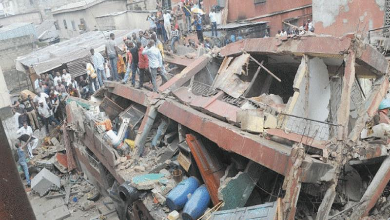 Lagos School building collapse